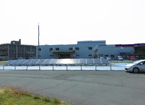水素ステーション太陽光発電所