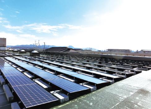 鳥取湖陵高等学校太陽光発電所