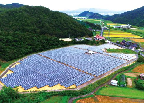 東郷太陽光発電所