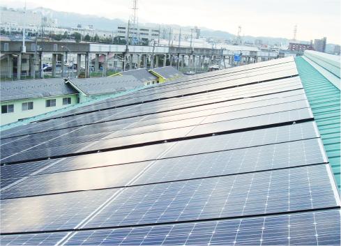 修立小学校太陽光発電所